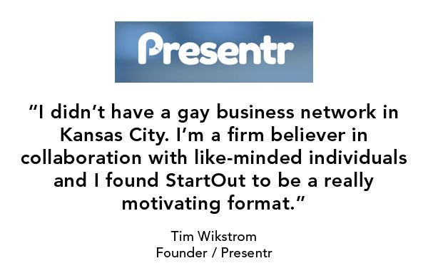 Presentr, LGBT entrepreneur, New York Demo Day, StartOut startup